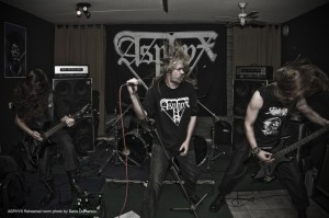 Does Asphyx's rehearsal space smell like beer and farts too?  Photo by Dario Dumancic (moltenmagazine.com)